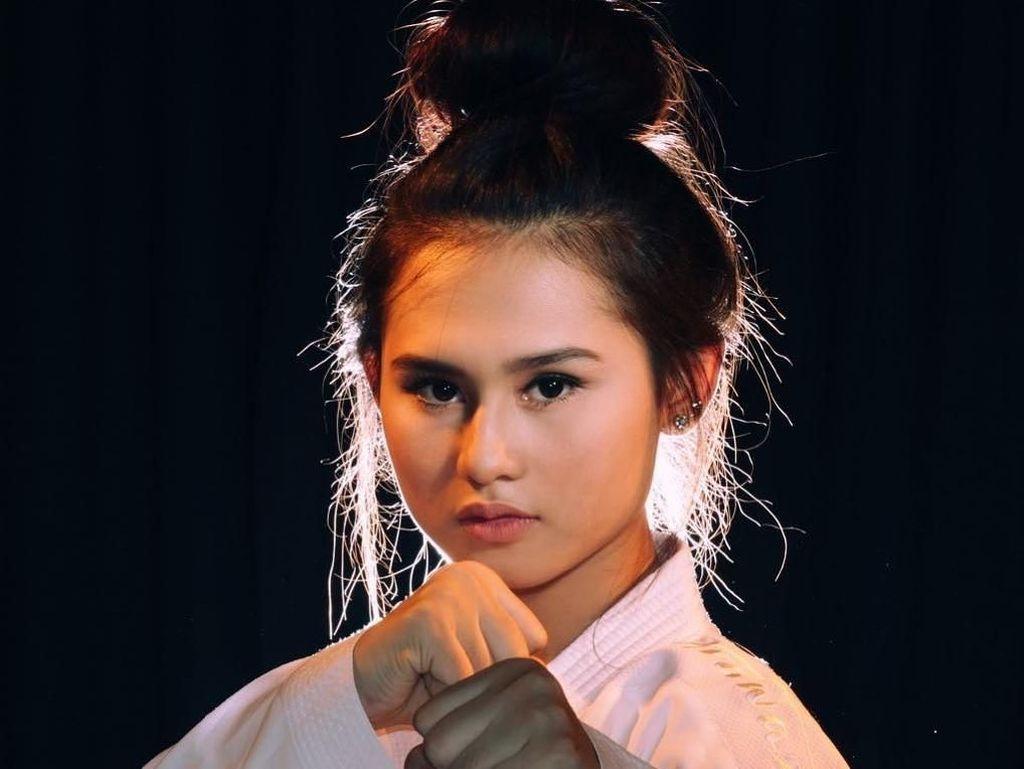 Wajah Imut Ceyco Georgia, Karateka Indonesia yang Mirip Vanesha Prescilla
