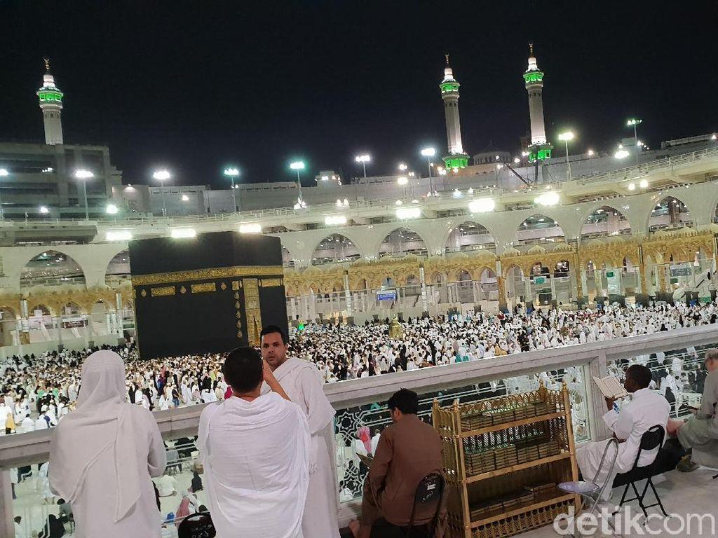 Hari ke-19: 121 Ribu Jemaah Tiba di Tanah Suci, 25 Orang Meninggal