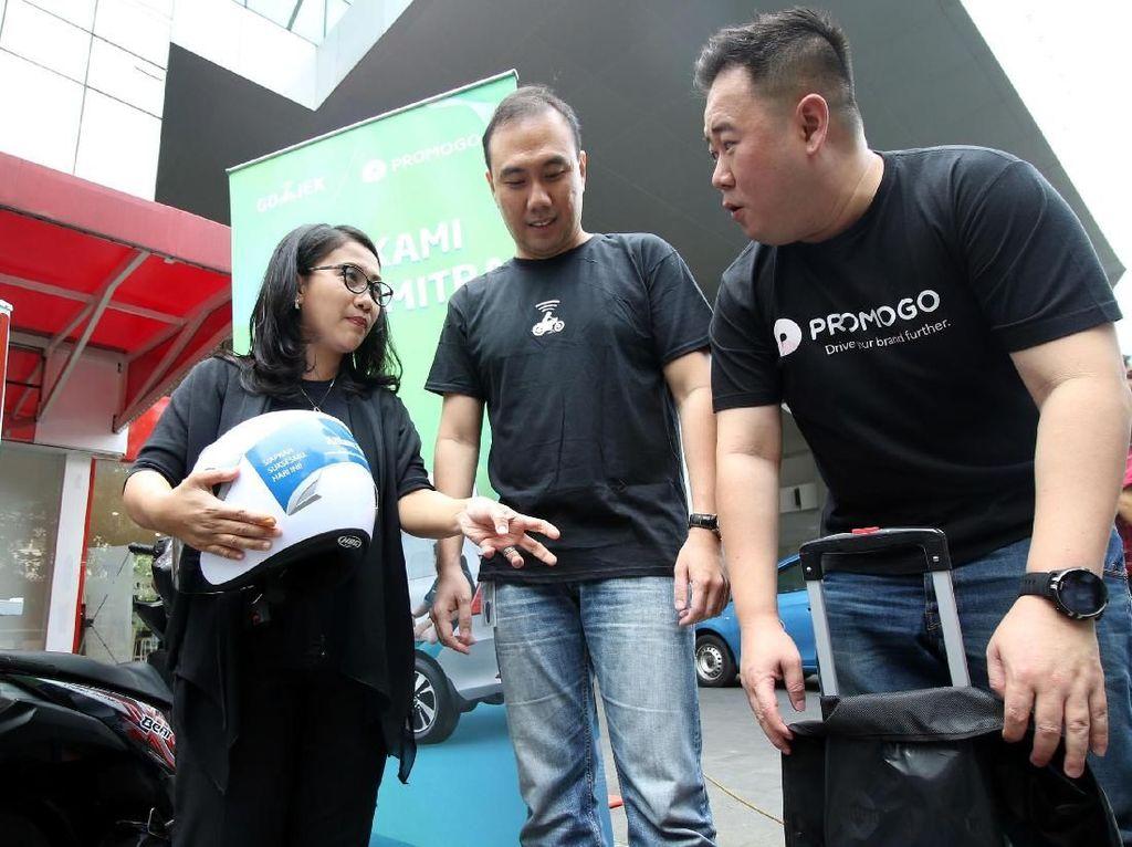 Kolaborasi Go-Jek dan Promogo