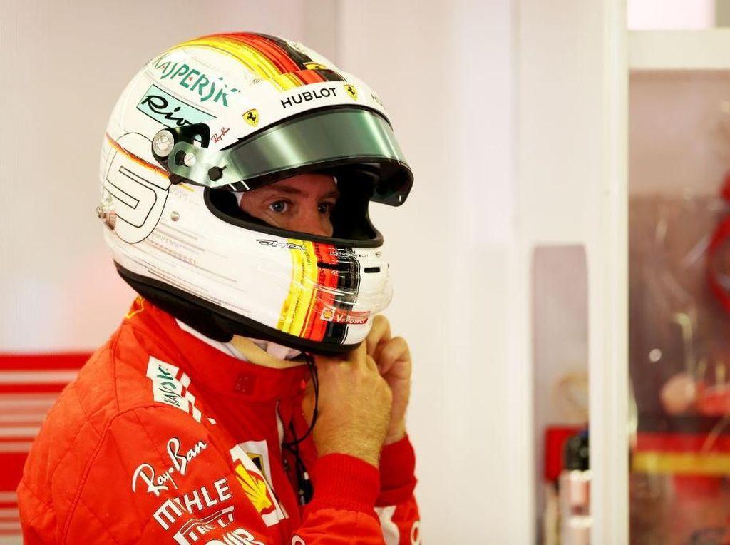 Giliran Vettel yang Tercepat di Latihan Bebas Kedua GP Hongaria