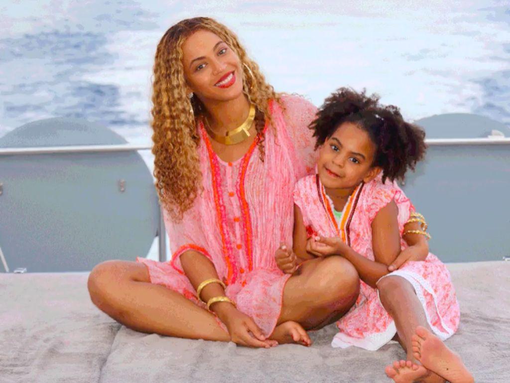 Mantul! Putri Beyonce Raih Penghargaan sebagai Pencipta Lagu di Usia 7 Tahun