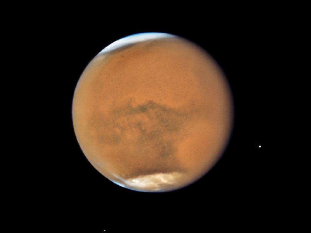 Fakta Menarik Kemunculan Mars di Gerhana Bulan Terlama