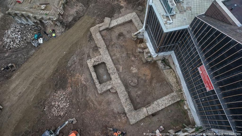Arkeolog Jerman Temukan Peninggalan Perpustakaan Romawi Kuno