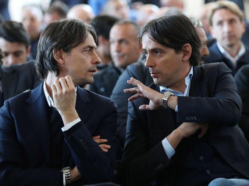 Menantikan Adu Taktik Inzaghi Bersaudara di Serie A