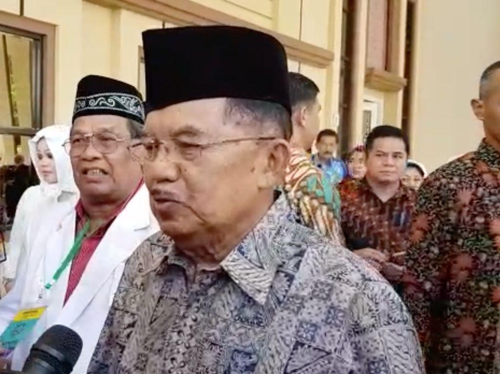 Bupati Lampung Selatan Kena OTT KPK, JK: Kita Prihatin