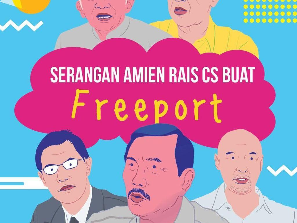 Amien Rais Cs Serang Freeport Lagi