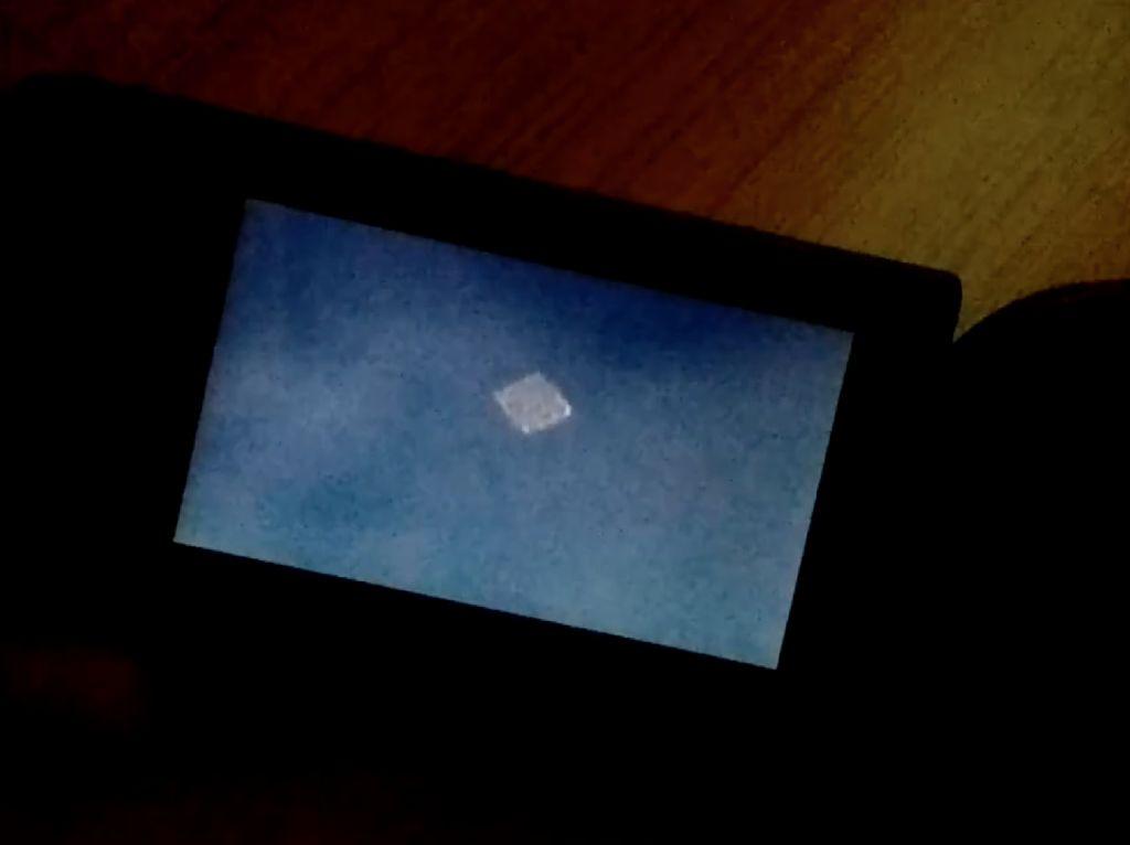 Potret Objek Diduga UFO di Langit Ciamis yang Bikin Heboh