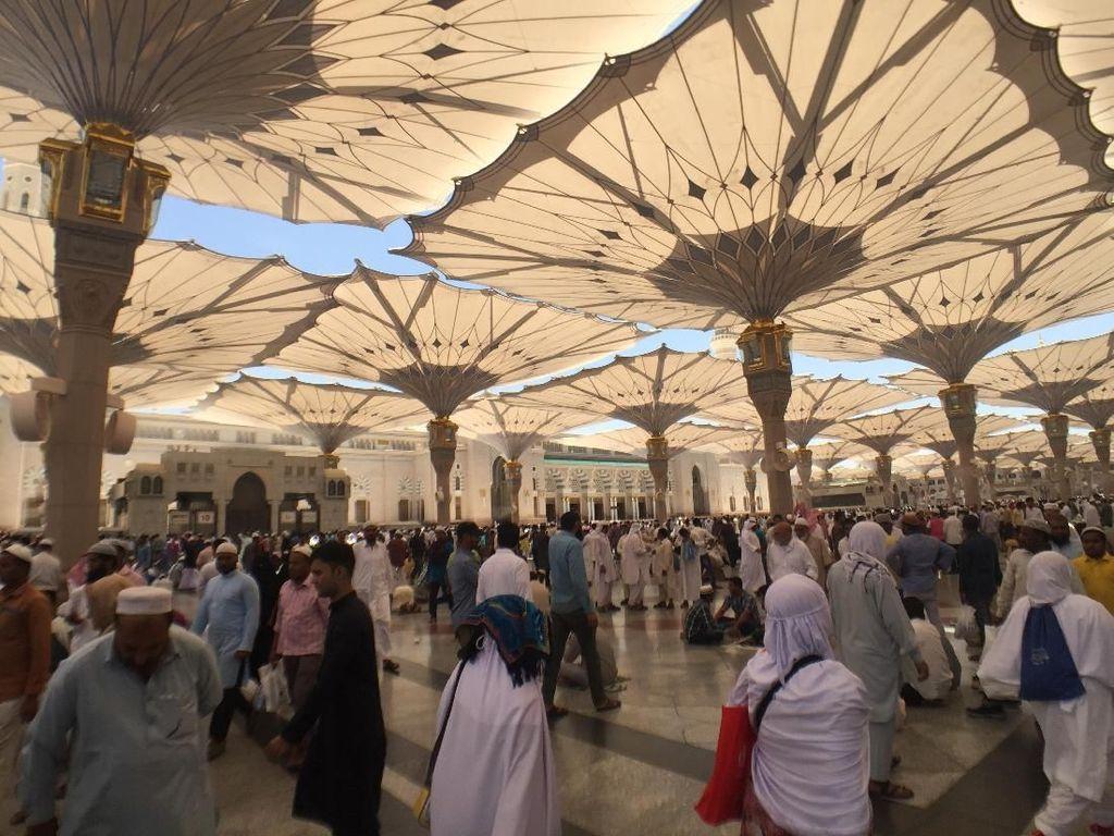 Video: Kloter Terakhir Jemaah Haji RI Tinggalkan Masjid Nabawi