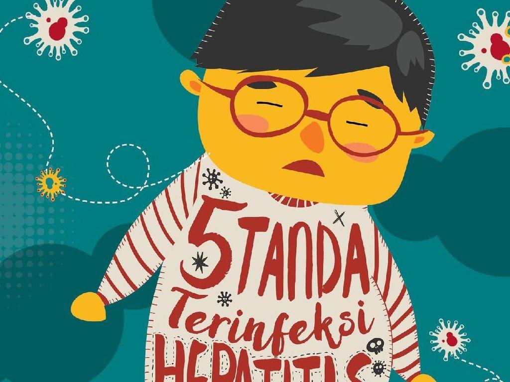Infografis: 5 Tanda Terkena Hepatitis