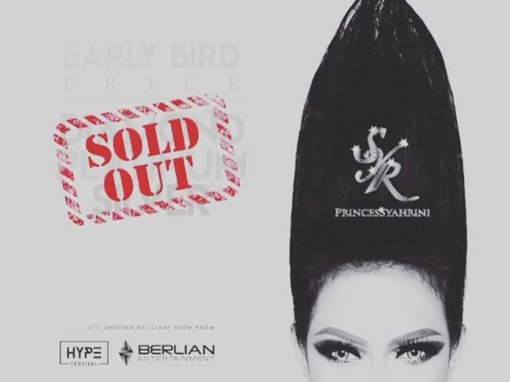 Hebat! Tiket Konser Syahrini Sold Out
