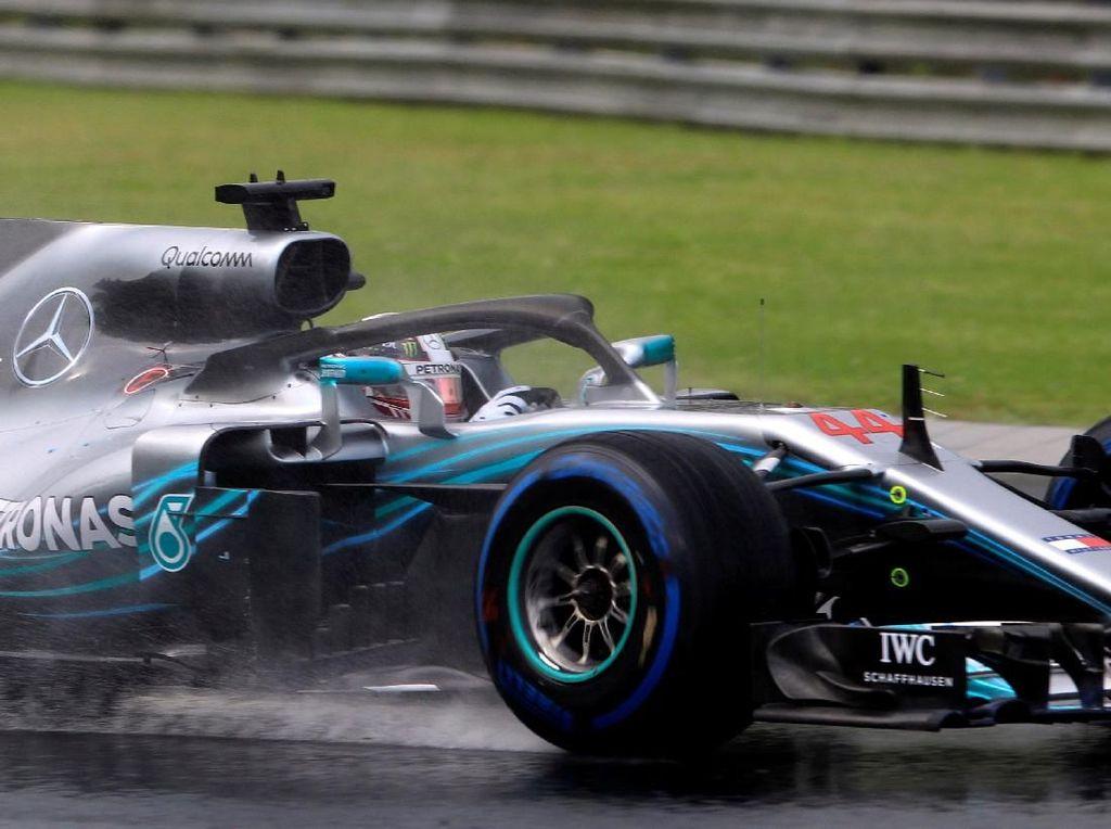 Hasil Kualifikasi GP Hongaria: Hamilton Pole, Vettel Keempat