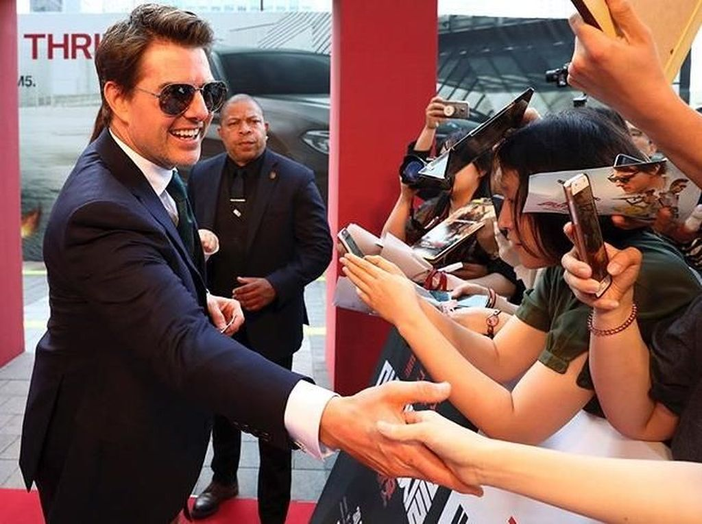 Tom Cruise Ngamuk Syuting Mission Impossible Direcoki Orang Tak Dikenal