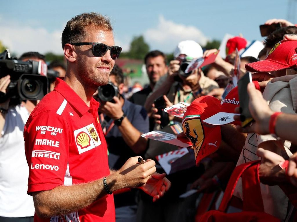 Vettel Incar Kemenangan di GP Hongaria demi Hapus Luka