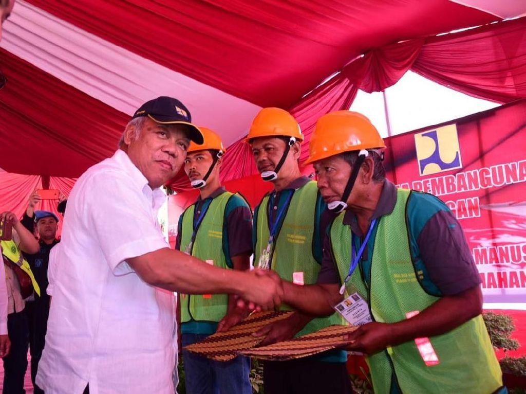 Napi Dapat Pelatihan Jadi Tukang Bangunan Bersertifikat