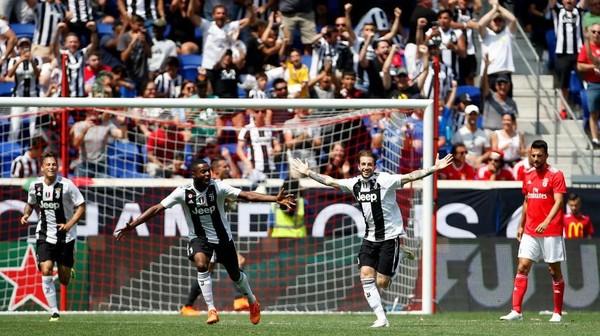 Hasil ICC 2018: Juventus Kalahkan Benfica Lewat Adu Penalti