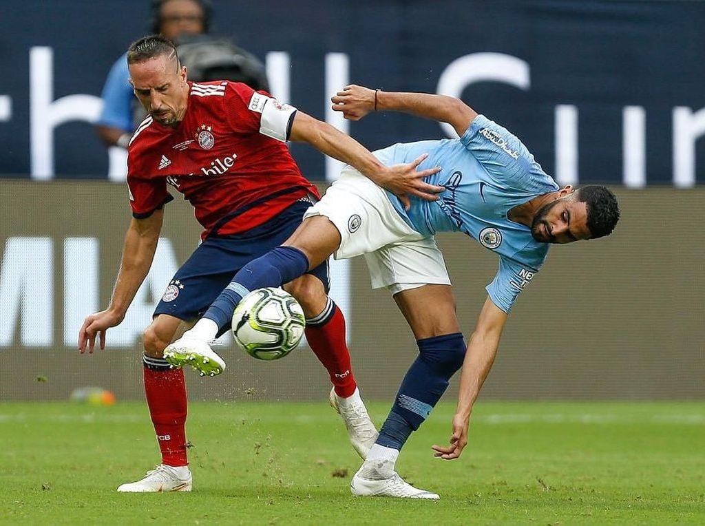 Hasil ICC 2018: Sempat Tertinggal Dua Gol, City Kalahkan Bayern 3-2
