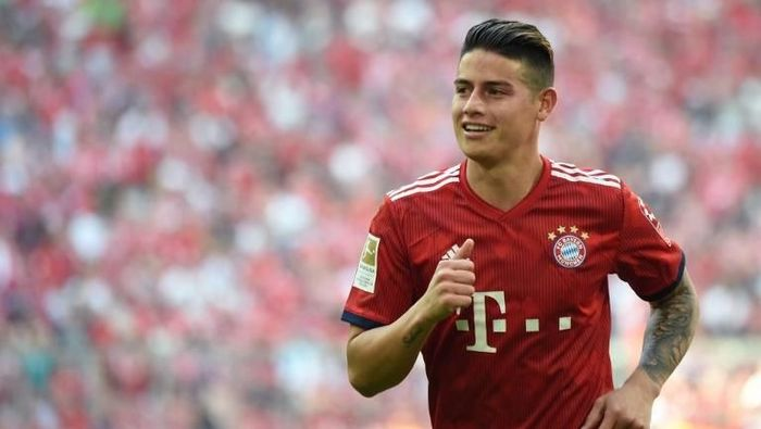 James Rodriguez akan dipermanenkan Bayern Munich. (Foto: Christof Stache/AFP Photo)