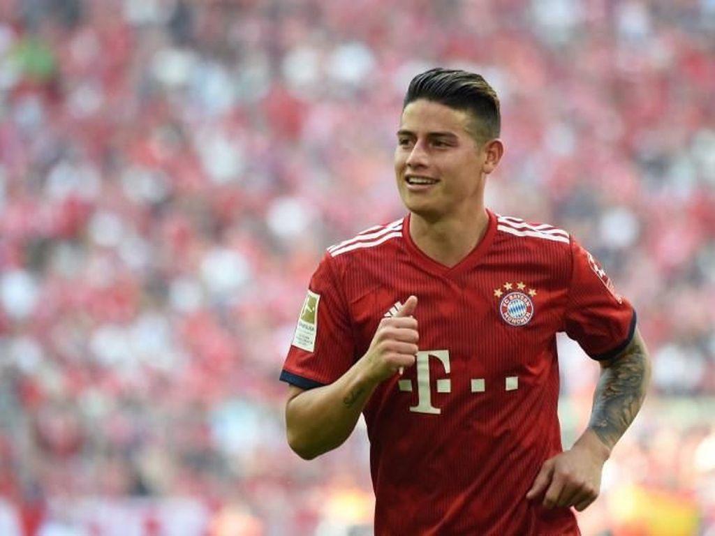 James Rodriguez ke Bayern: Terima Kasih atas Masa-masa yang Indah