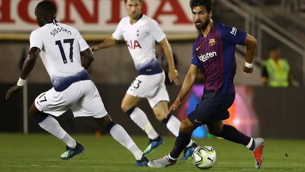 Hasil ICC 2018: Barcelona Atasi Tottenham Lewat Adu Penalti
