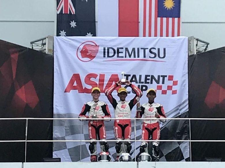 Pebalap Indonesia Juara di Sepang