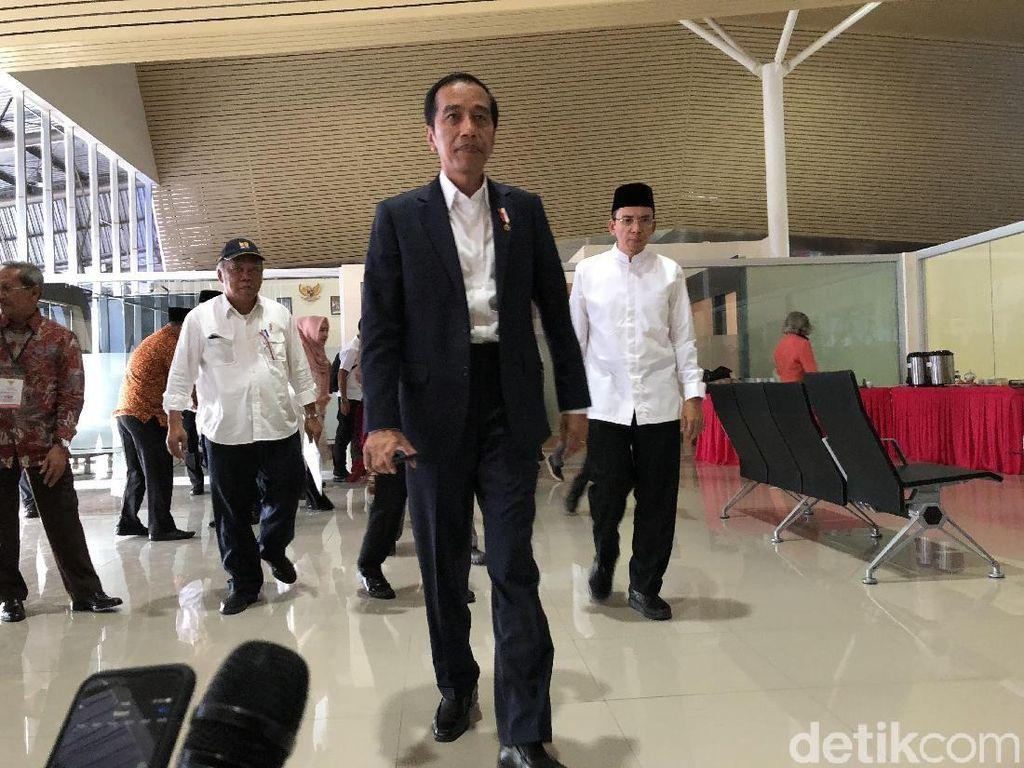 Jokowi-TGB Duet Tangani Korban Gempa NTB