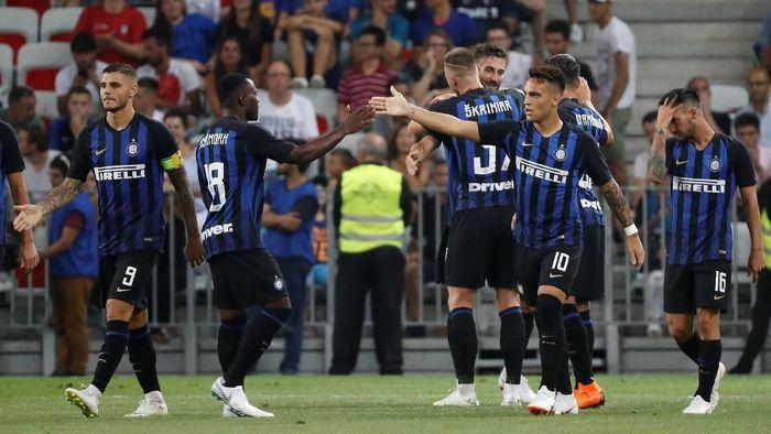 Inter Milan ingin melangkah sejauh mungkin di Liga Champions (Foto: Eric Gaillard/Reuters)
