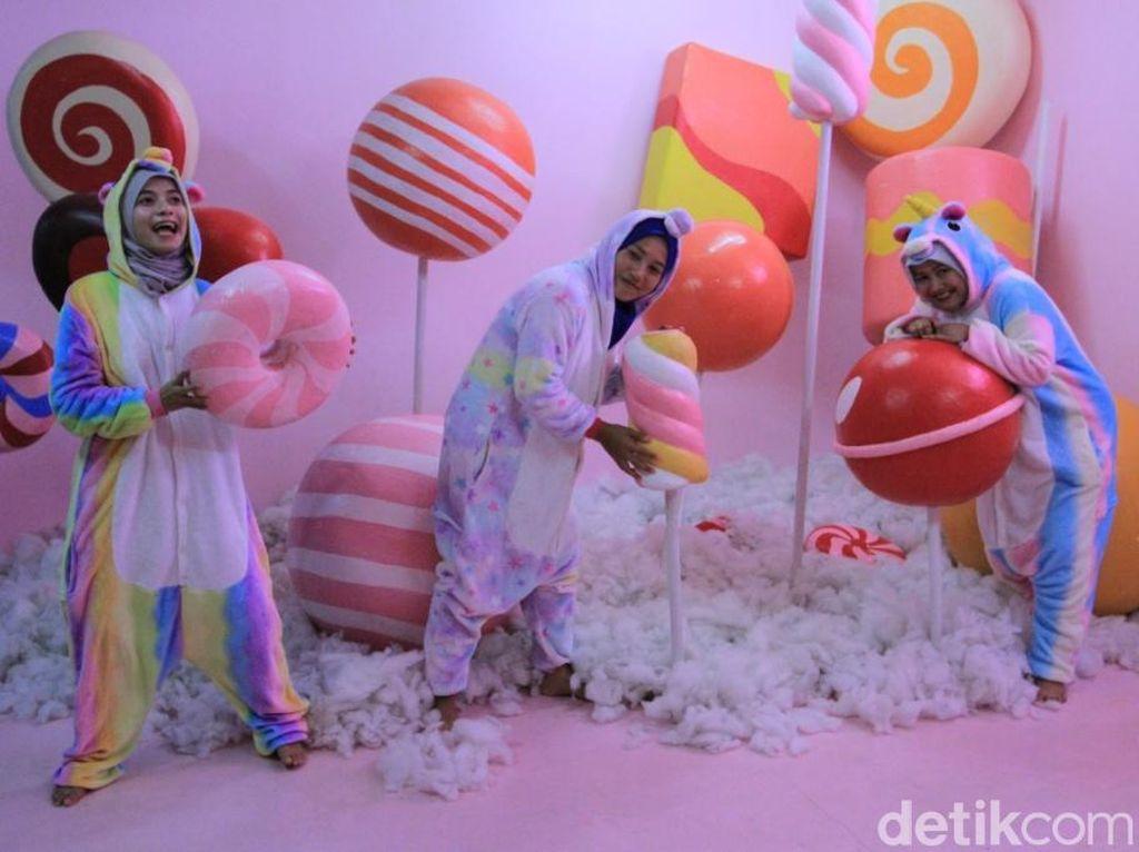 Foto: Rumah Permen yang Menggemaskan di Bandung