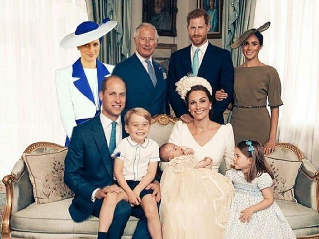 Beginilah Kira-kira Jika Lady Diana di Tengah Anak-Cucunya