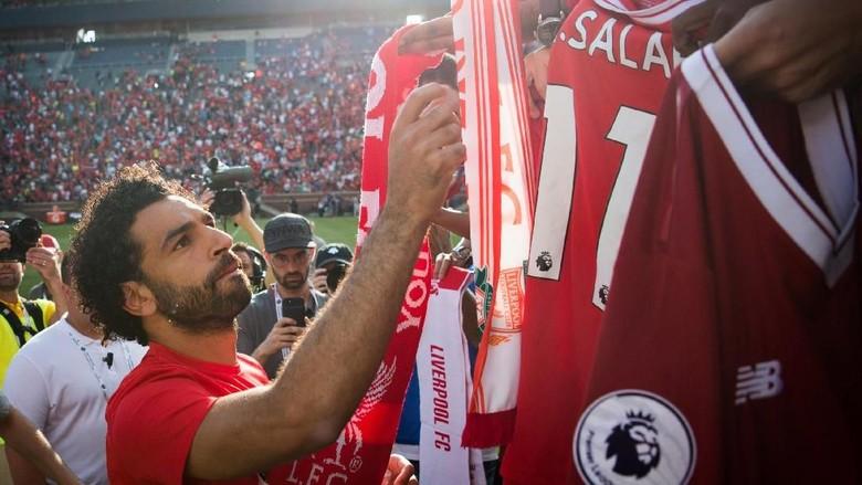 Ronaldinho: La Liga Akan Jadi Surga untuk Mohamed Salah