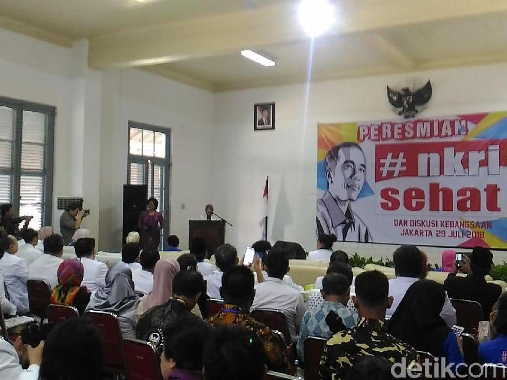 Saat Para Istri Menteri Jokowi Kumpul dan Bikin Gerakan #NKRISehat