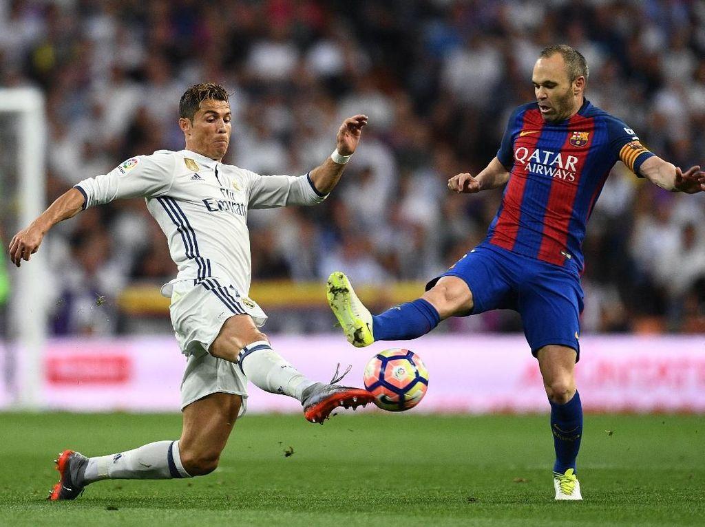 Kepergian Ronaldo bagi Madrid Sepenting Kepergian Iniesta bagi Barca