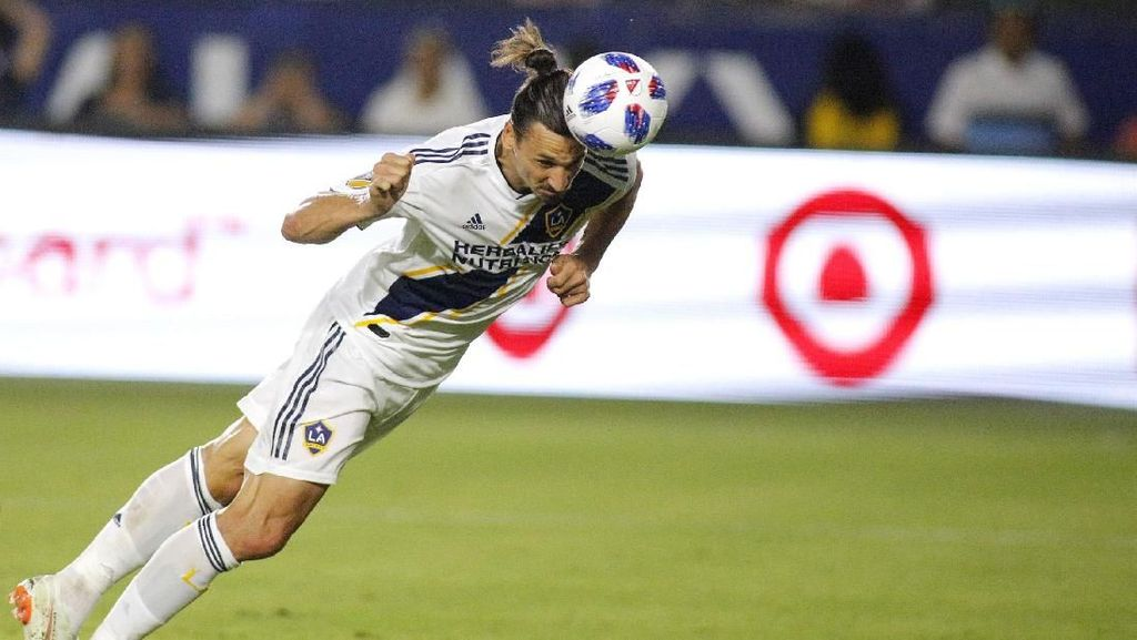 Maaf Milan, Ibrahimovic Punya Urusan yang Belum Selesai di LA Galaxy