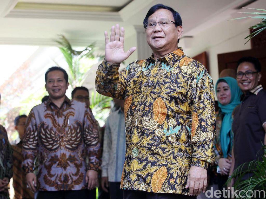 Foto: Mr A Cawapres Prabowo yang Masih Tanda Tanya