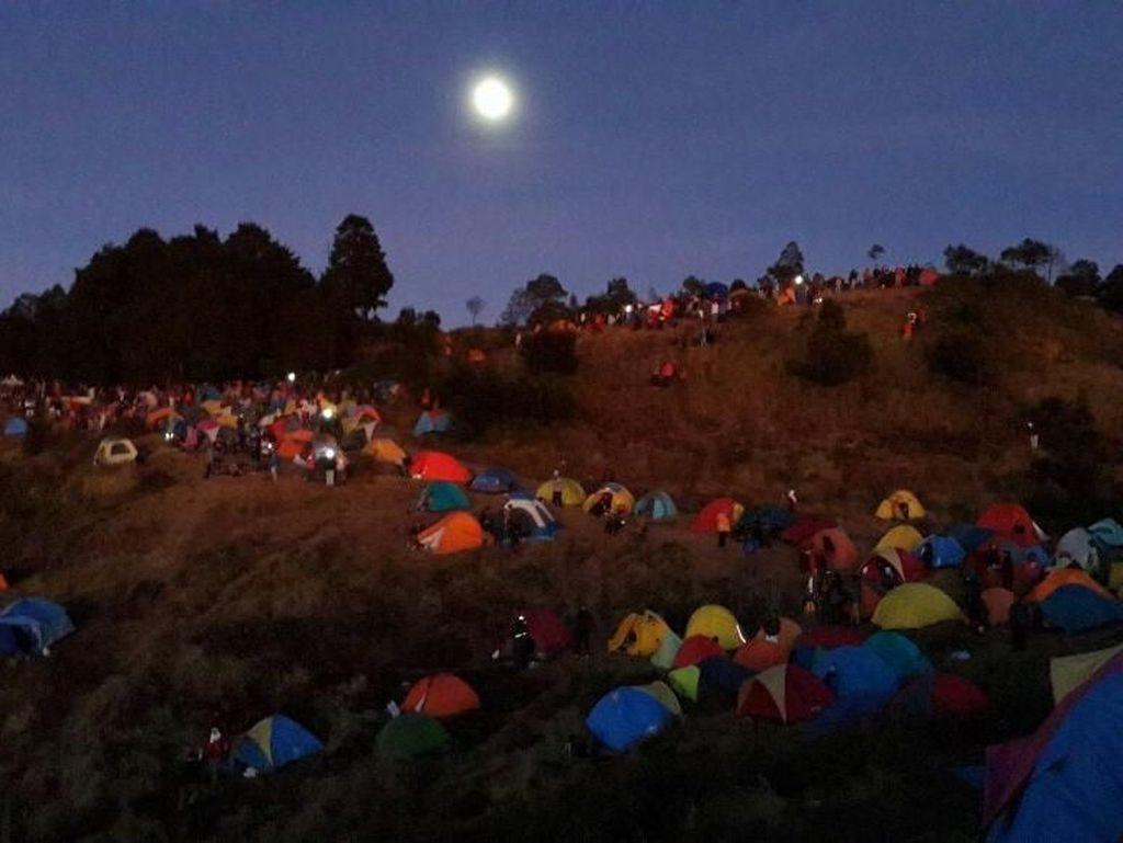 Begini Serunya Jambore Jejak Petualang di Gunung Prau