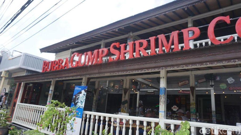 Foto: Toko Suvenir Serba Forrest Gump di Bali