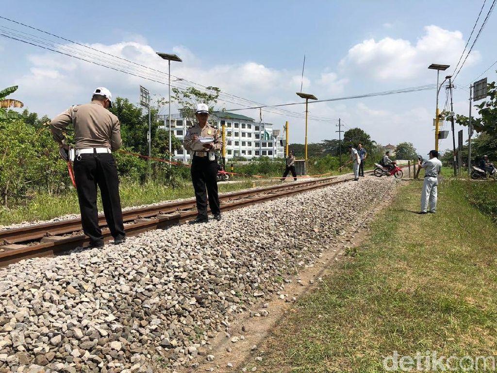 Tragis, Dua Mahasiswa di Tulungagung Tewas Tersambar KA Dhoho