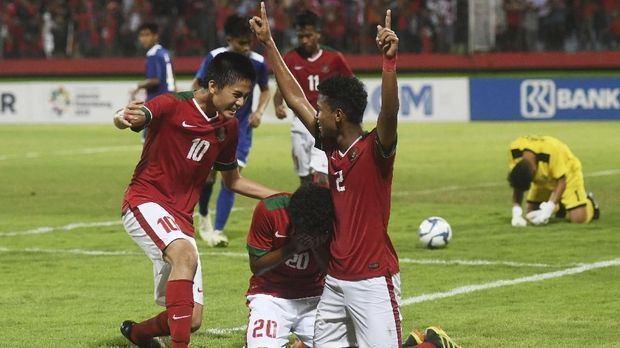 Total Bagus Kahfi sudah mencetak 12 gol di Piala AFF U-16 2018 dengan tiga di antaranya dari tendangan penalti.