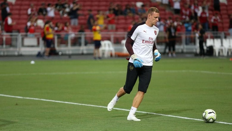 Emery Pastikan Bernd Leno Bakal Debut dengan Arsenal di Liga Europa