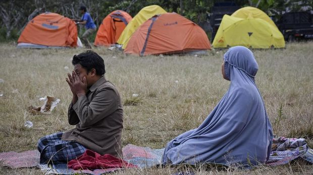 Trauma Warga yang Kerap Panik Hadapi Gempa Susulan di Lombok