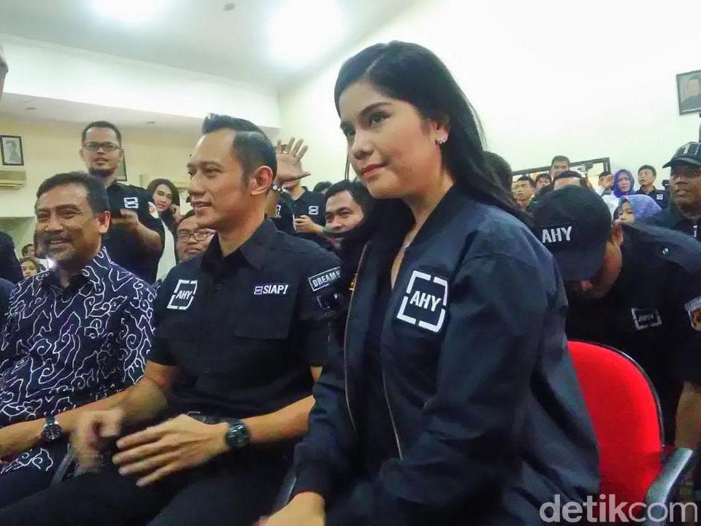 Tak Temani SBY Bertemu Prabowo, AHY Datangi Deklarasi Relawan