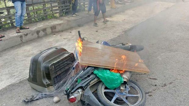 Bentrokan Brutal di Jambi, 1 Pelaku Dibekuk