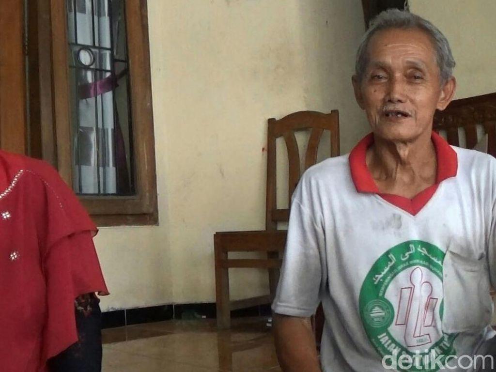 Tak Sendirian, Kakek Penambal Ban Safuan Ajak Istri Naik Haji Bareng