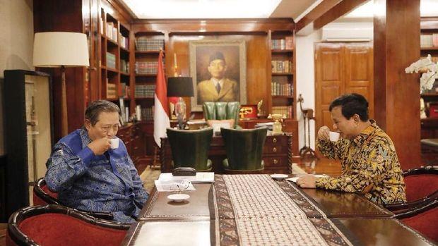 SBY dan Prabowo Kembali Berbincang Empat Mata