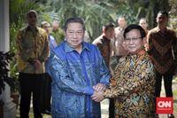 Demokrat: SBY dan Hinca Panjaitan Hadir ke Rumah Prabowo