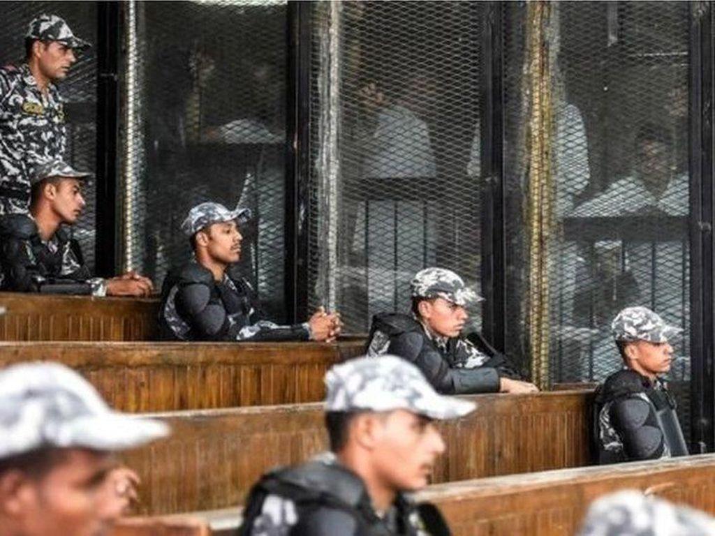 Mesir Vonis Mati 75 Pendukung Eks Presiden Morsi
