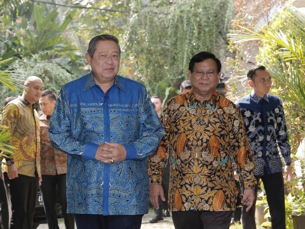SBY Belum Pasti Hadiri Pertemuan Ketum Koalisi Prabowo