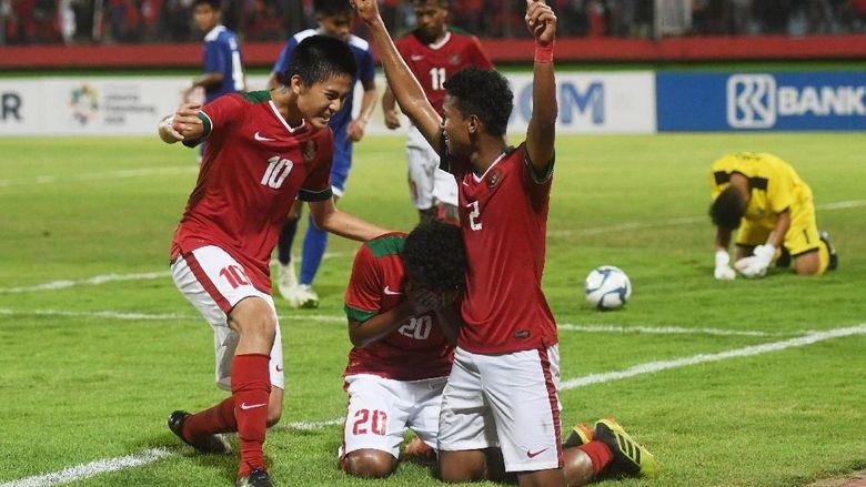 Klasemen Piala AFF U-16: Indonesia dan Laos di Puncak Grup