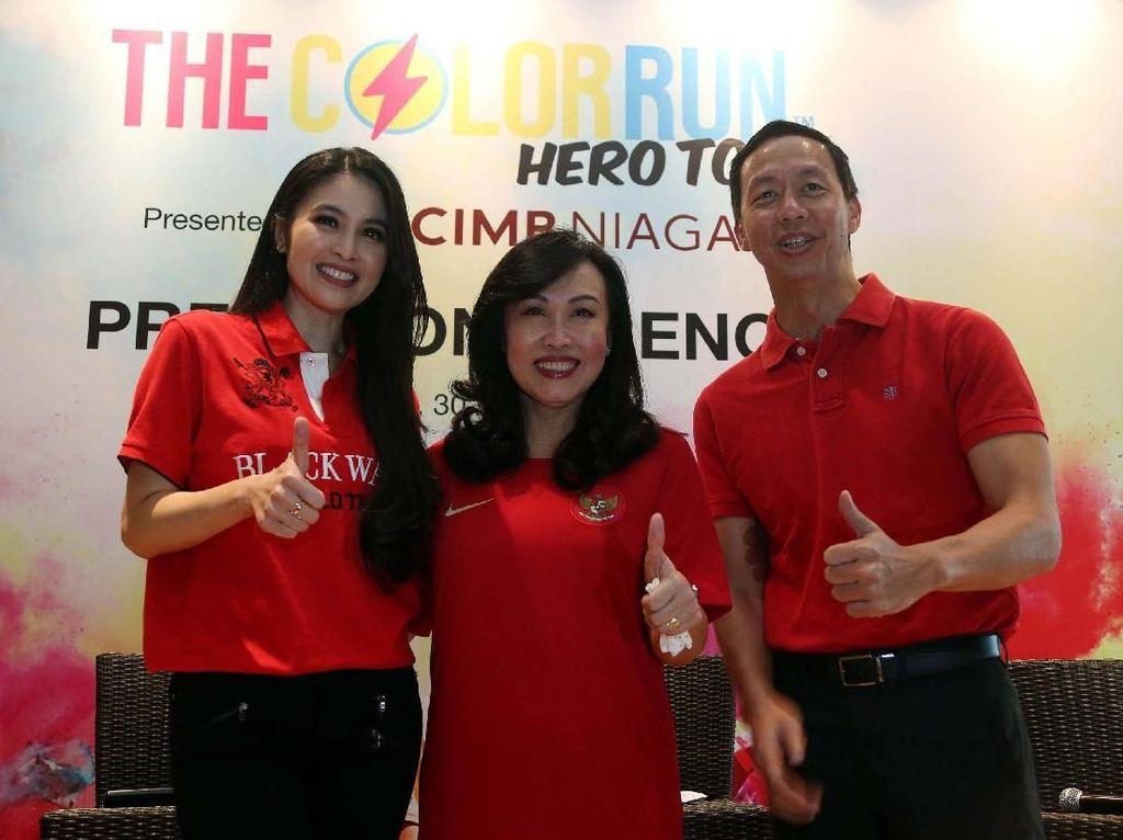 CIMB Niaga Kembali Gelar The Colour Run di GBK Senayan