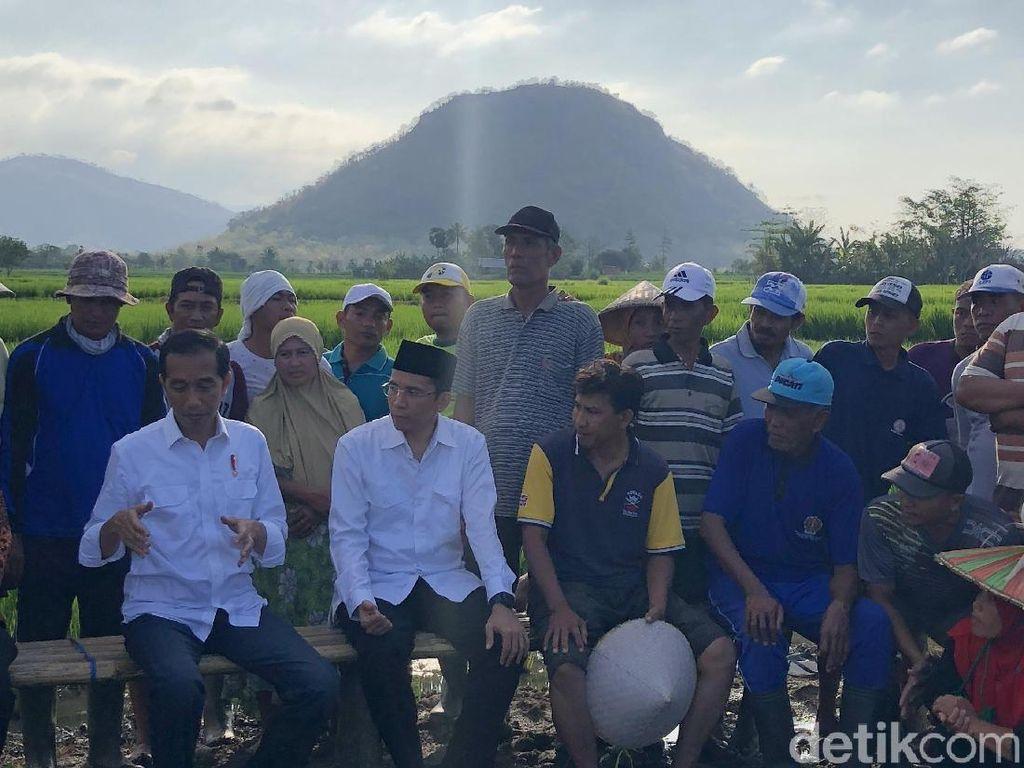 Soal Cahaya yang Jatuh di Kepala TGB Saat Temani Jokowi