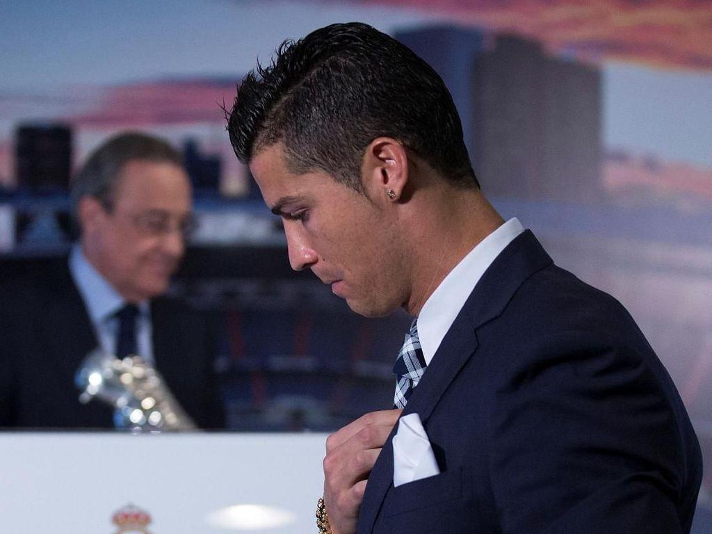 Memang ada Masalah Serius antara Ronaldo dan Perez